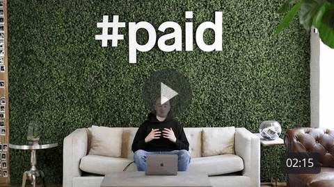 How does #paid work?